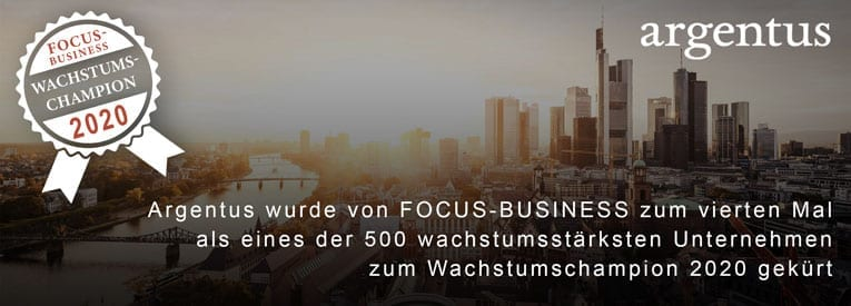 Focus-Business - Wachstumschampion 2020